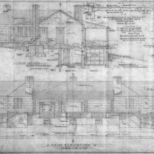 Elevation, Sections and Details