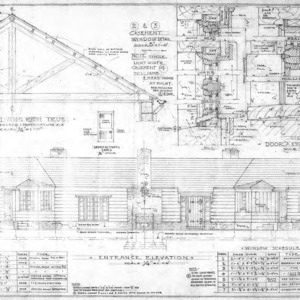 Elevations, Details and Schedules
