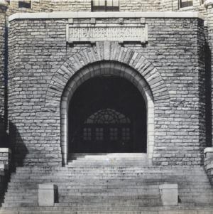Front Entrance Detail