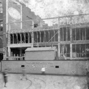 Front under construction