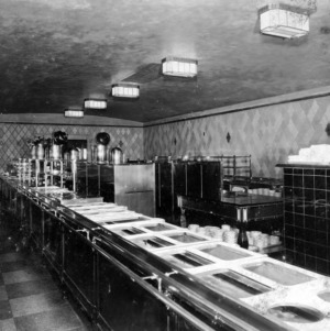 Interior Showing Serving Line