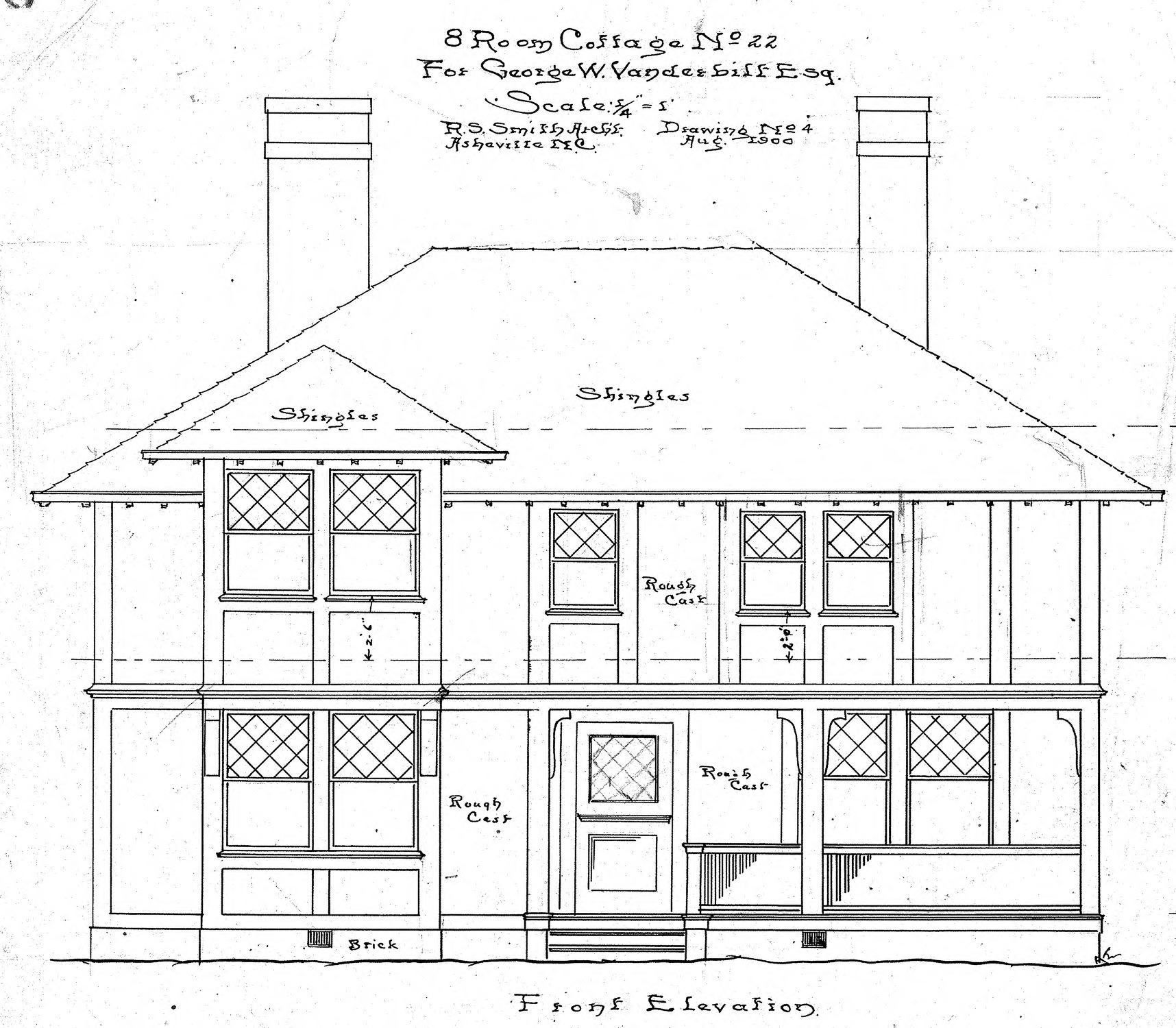 What Is A Front Elevation Drawing : Front elevation drawing type of tetbury barns images
