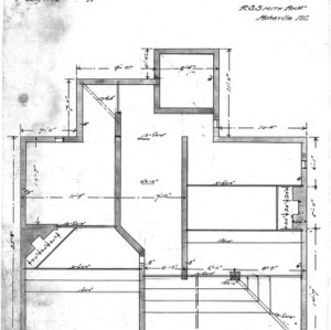 "Cottage ""A-2""--Foundation Plan"
