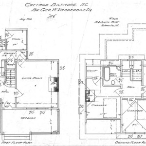 "Cottage ""A-2""--First & Second Floor Plan"