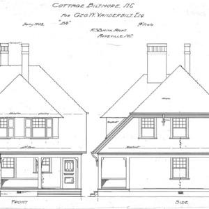 "Cottage ""B2""--Front & Side"
