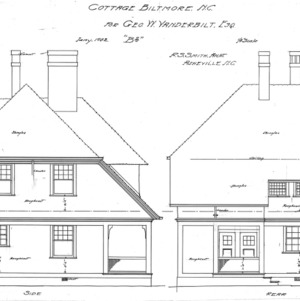 "Cottage ""B2""--Side & Rear"