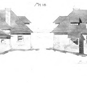 Cottage - No 18--West and East Side