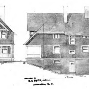 Cottage - No. 29--Front & Side