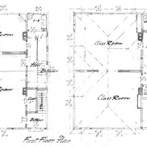 Cottage – Unidentified--First & Second Floor Plan