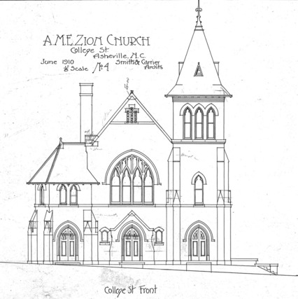 AME Zion Church-- College Street Front