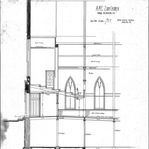 AME Zion Church-- Section C-D - No 7