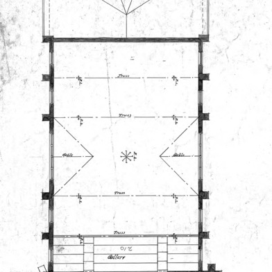 AME Zion Church-- Gallery Plan - No. 3
