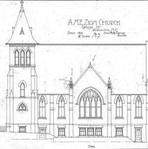 AME Zion Church-- Side - No. 5