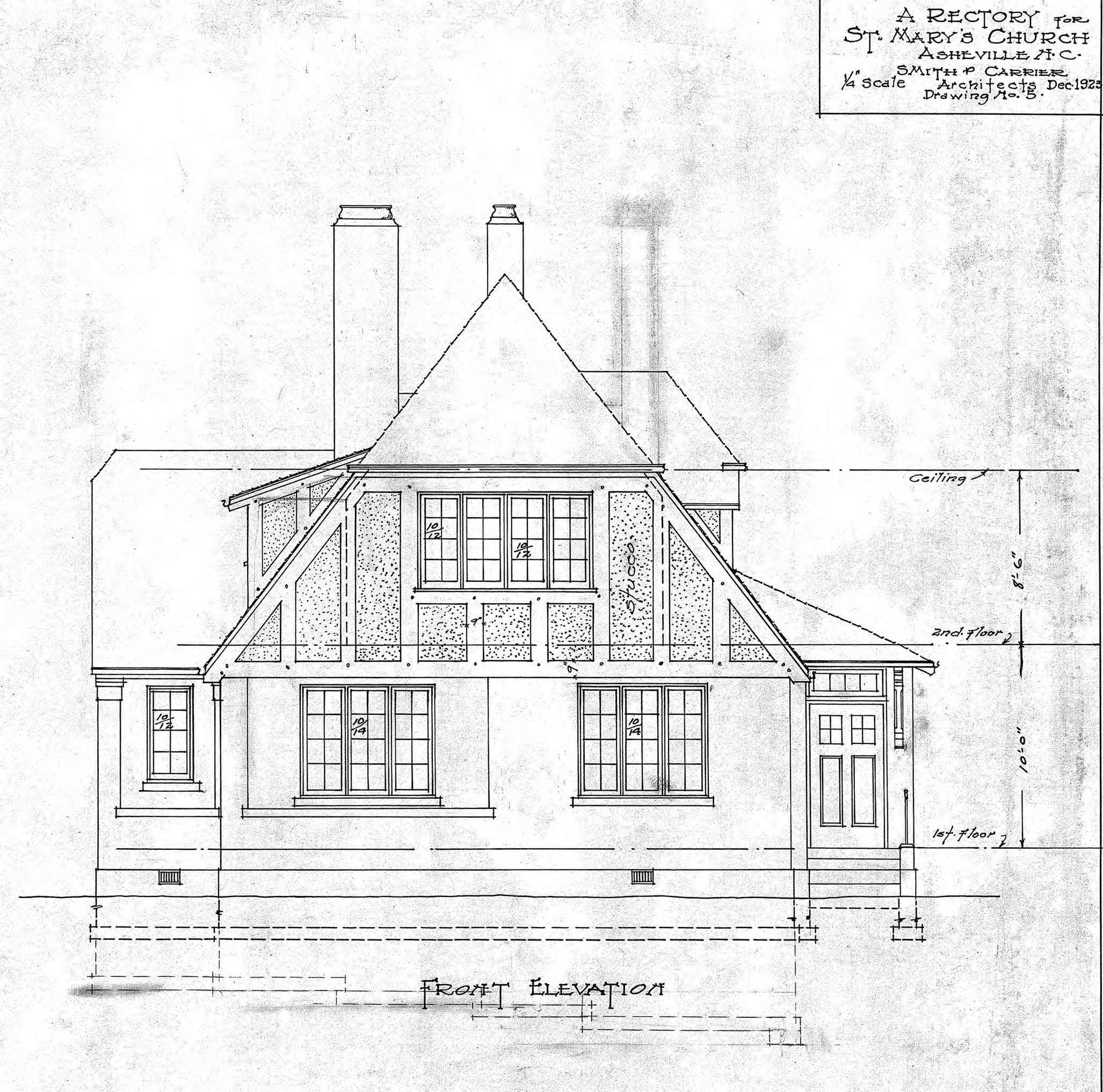 Simple Front Elevation Drawing : House front elevation drawing