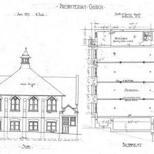 Presbyterian Church - Market Street--Side & Basement