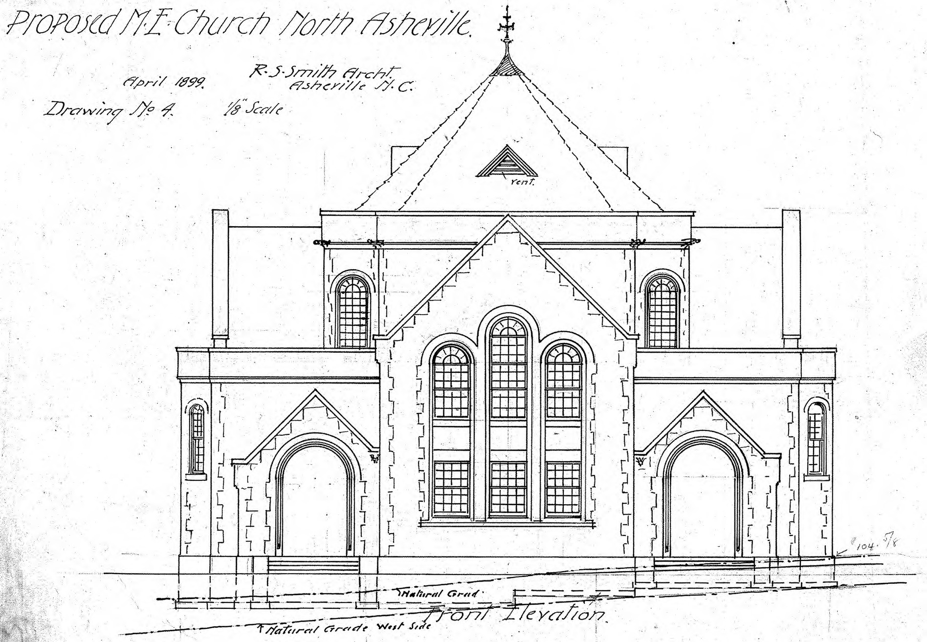 Make A Front Elevation Drawing : Front elevation of church joy studio design gallery