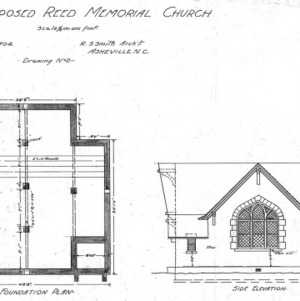 Ncsu libraries 39 rare and unique digital collections search for Foundation plan drawing