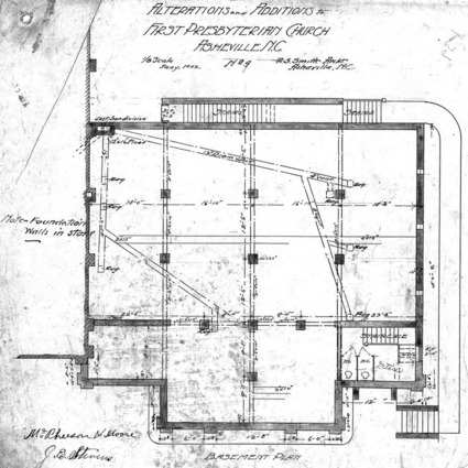 Alterations & Additions - No. 9 - Basement Plan