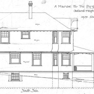 A Manse for the Presbyterian Church - Oakland Heights--South Side