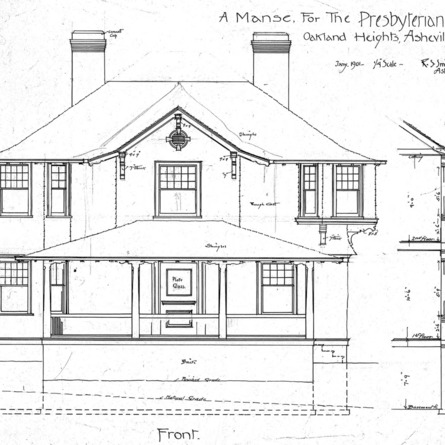 A Manse for the Presbyterian Church - Oakland Heights—Front