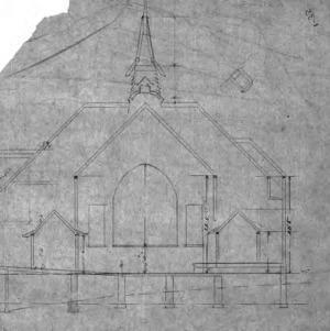 Baptist Church--Elevations