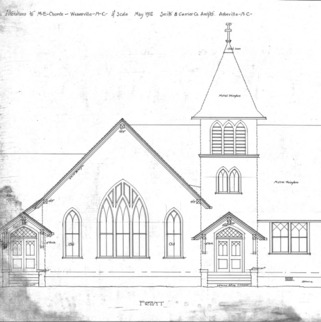 Alterations to M - E - Church--Front
