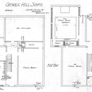 Catholic Hill School - Basement