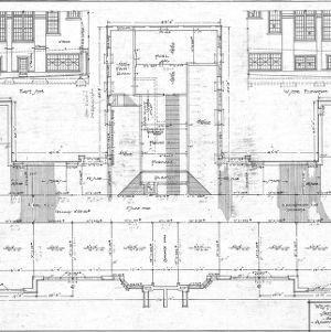 West Asheville School - Sulphur Springs Road--Construction Plan - Ground Floor