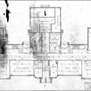 West Asheville School - Sulphur Springs Road--Ground Floor Plan