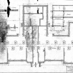 West Asheville School - Sulphur Springs Road--Foundation Plan