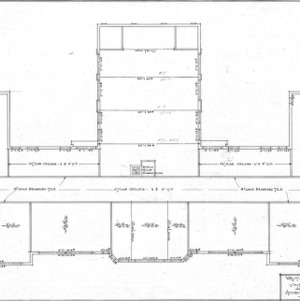 West Asheville School - Sulphur Springs Road--Second Floor - Alternate Construction Plan