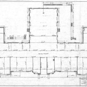 West Asheville School - Sulphur Springs Road--First Floor - Construction Plan