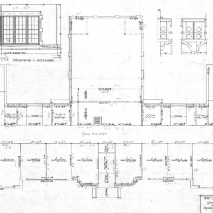West Asheville School --Construction Plan - 1st Floor
