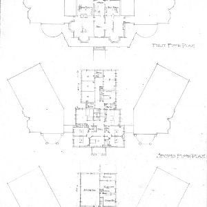 Asheville School for Girls--N. Main & Woodfin Street--Floor Plans