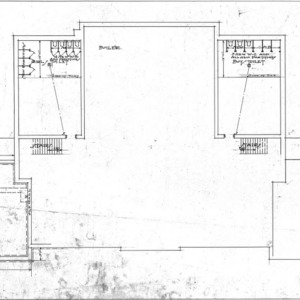 Additions to Woodfin School--Foundation Plan - No. 1
