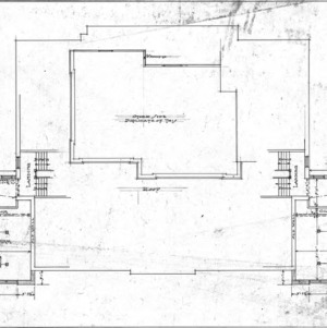 Additions to Woodfin School--Second Floor Plan - No. 3