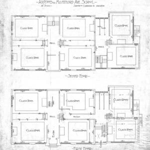Additions to Montford Avenue School--First Floor & Second Floor
