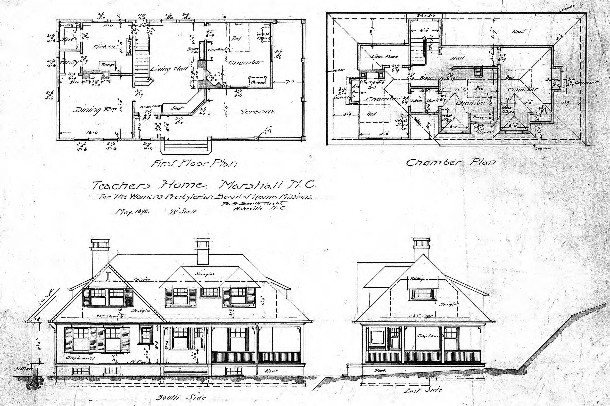 Elevation Plan Layout : Famous architectural elevations of a residential buildings
