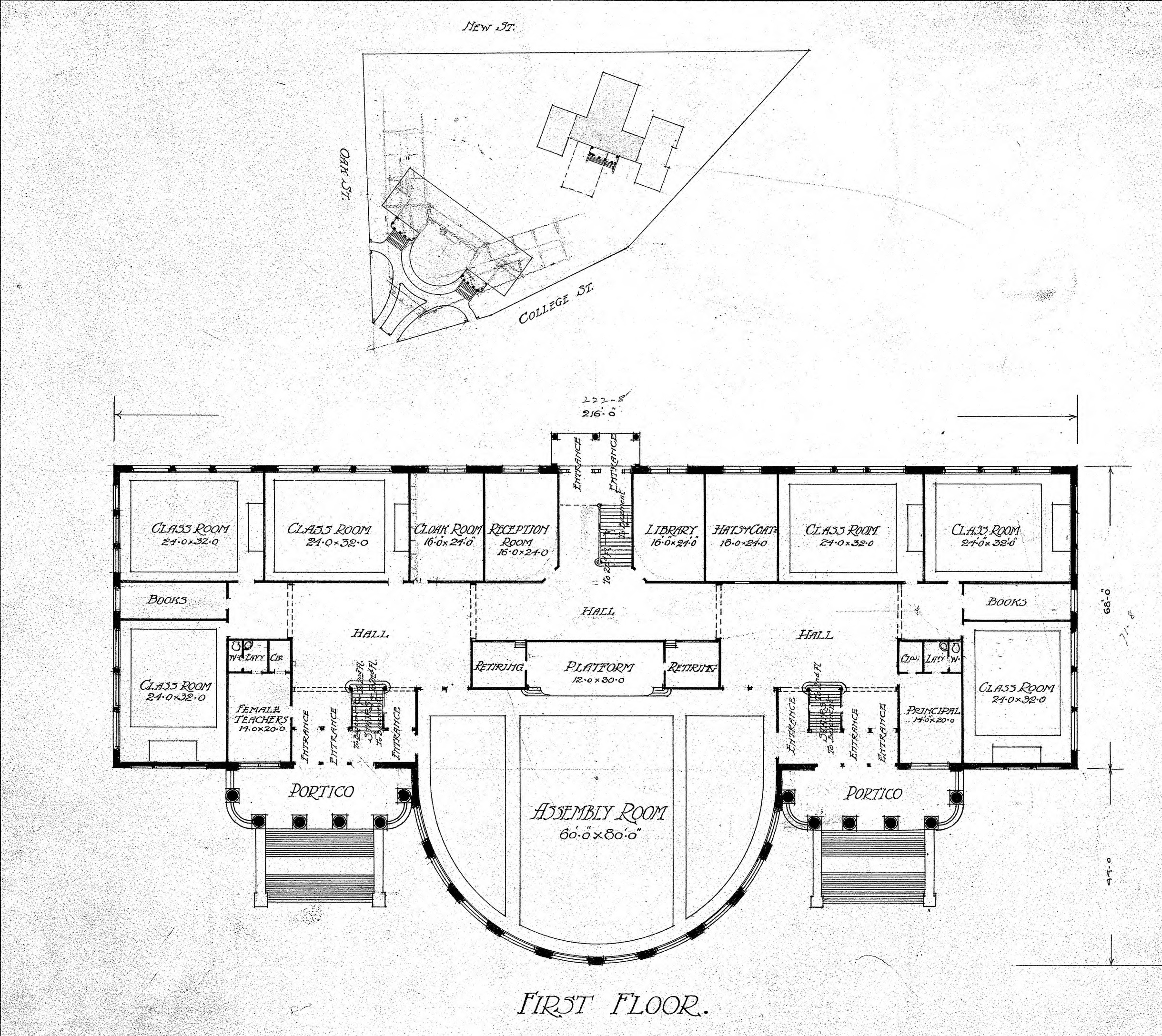 The Latest Service Planned For School Shooti: First Floor- Rd Plan