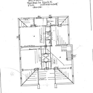 Alterations to Cottage- for D.S. Watson, French Broad Ave--Foundation