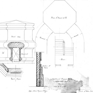 Apartment House- Albemarle Park- for E.W. Grove--Plan of Newel A
