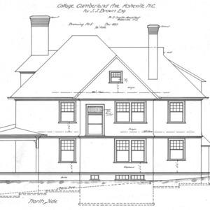 Cottage- Cumberland Ave.- for J.J. Brown--North Side