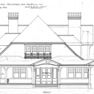 Residence- Montford Ave.--Front