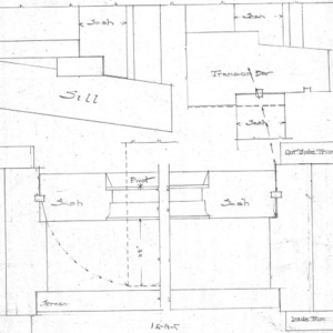 A House in Grove Park for W.W. Turnbull--Plan