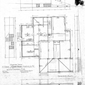 A House in Grove Park for W.W. Turnbull--Basement Plan