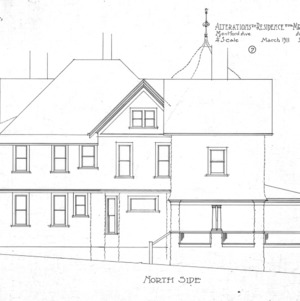 Alterations to Residence for Mrs. Harman Miller - Montford Avenue--North Side