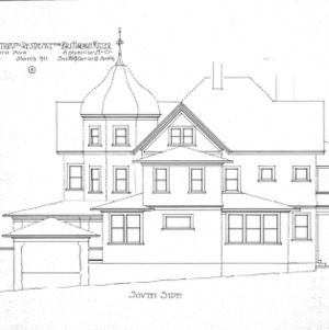 Alterations to Residence for Mrs. Harman Miller - Montford Avenue--South Side