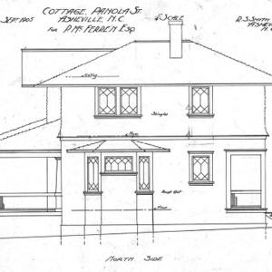 Cottage Panola St - For P. McFenen--North Side