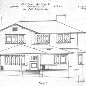 Cottage Panola St - For P. McFenen--Front