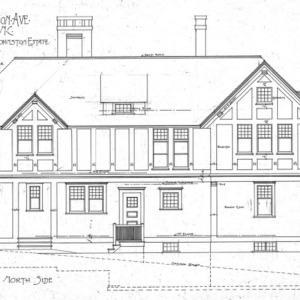 Cottage Merrimon Avenue - for the late Capt. Thos. D. Johnston-Estate--North Side